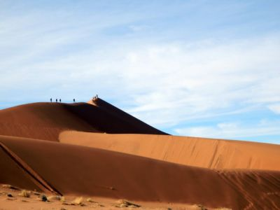 The Red Dunes of Sossusvlei